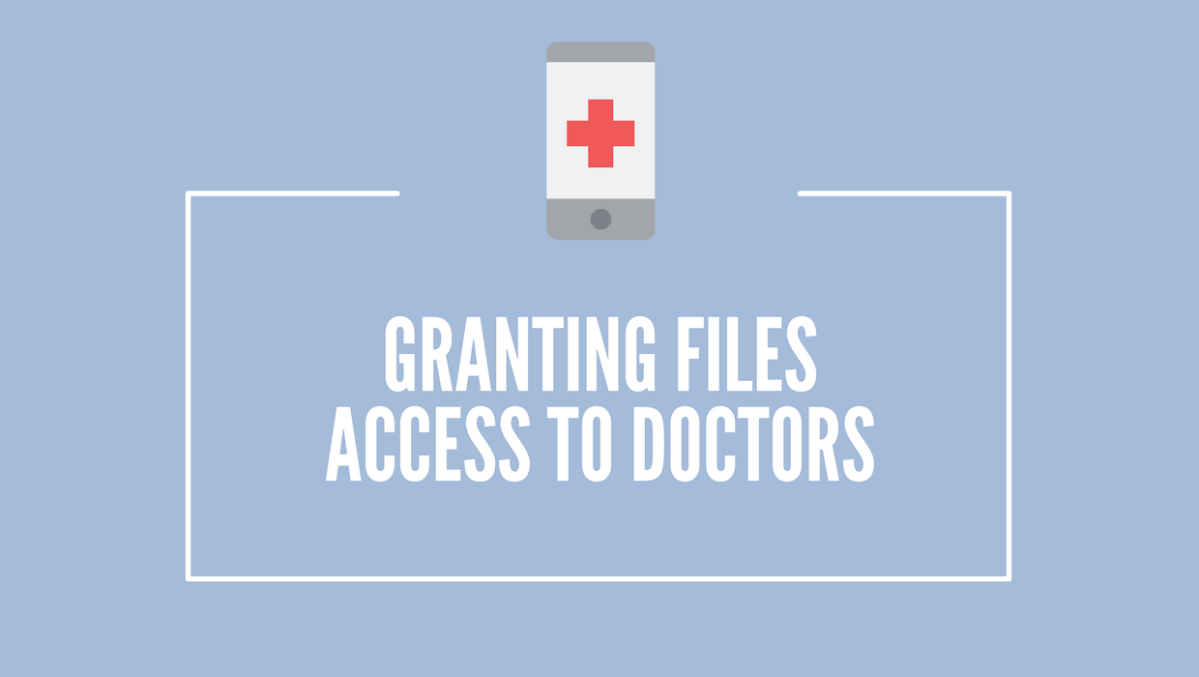 Granting File Access to Doctors